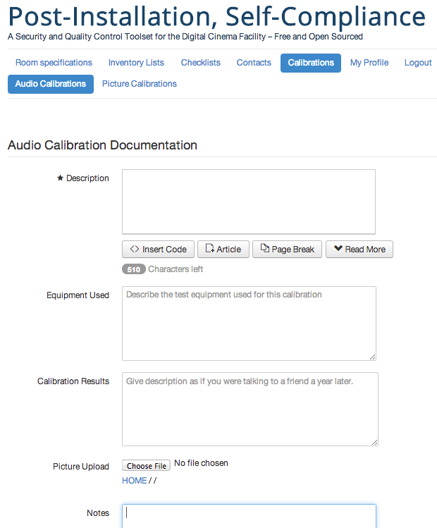 Image of Audio Monitoring front end
